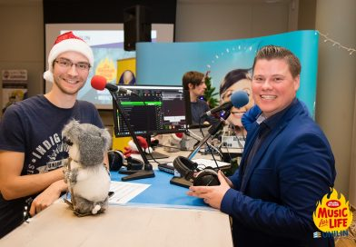 Radio Unilin op vrijdag 13 december