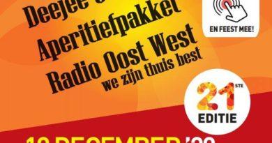 Live Historie @ Home op 19 december, live bij Radio Oost West